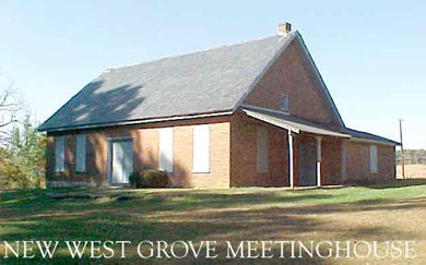 New West Grove Meetinghouse