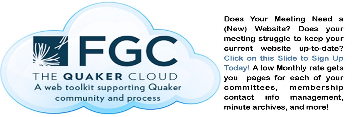 FGC Quaker Cloud Launch