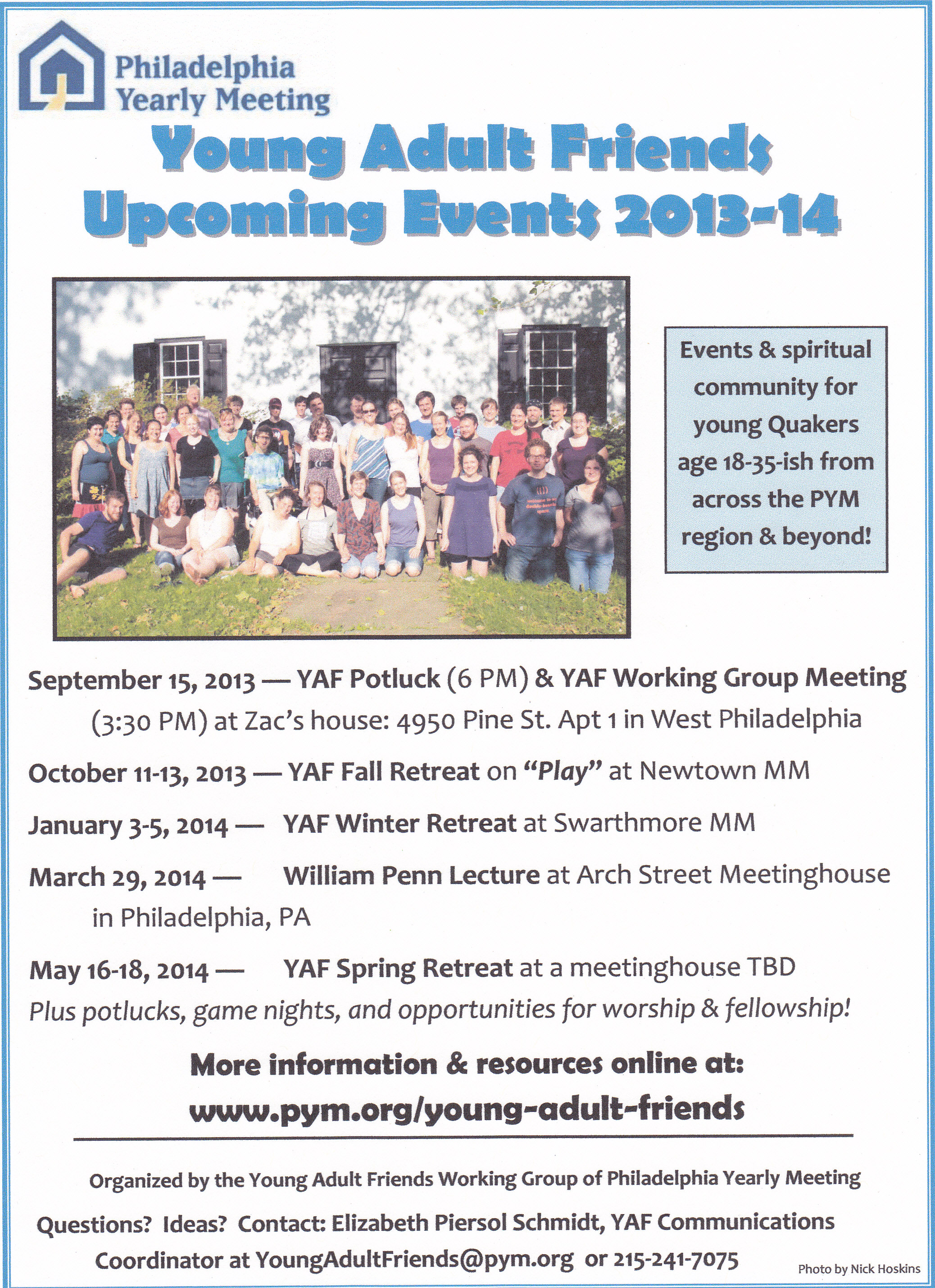 Final, Events for young adults serious?